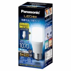 パナソニック LDT8DGST6 LED電球 T形タイプ E26 60形相当 1070lm 昼光色相当 断熱材施工器具・密閉型器具対応
