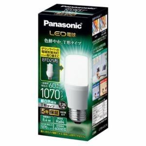 パナソニック LDT8NGST6 LED電球 T形タイプ E26 60形相当 1070lm 昼白色相当 断熱材施工器具・密閉型器具対応