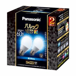 パナソニック LDA7DDGSZ62T LED電球プレミアX E26 60形相当 昼光色相当 全方向タイプ 2個セット