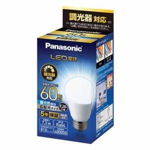 パナソニック LDA7DGDSK6 LED電球 E26 60形相当 昼光色相当 調光器対応