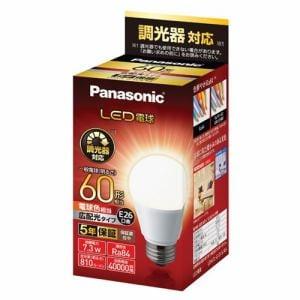 パナソニック LDA7LGDSK6 LED電球 E26 60形相当 電球色相当 調光器対応