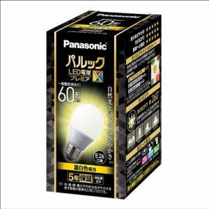 パナソニック LDA7WWDGSZ6 LED電球プレミアX E26 60形相当 温白色相当 全方向タイプ