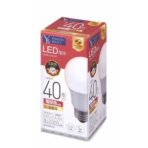 YAMADA SELECT(ヤマダセレクト) LDA4LGEG1 LED電球 40W 電球色 口金E26