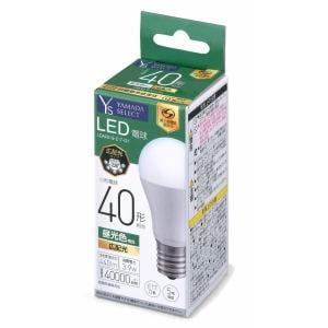 YAMADA SELECT(ヤマダセレクト) LDA4DGE17G1 LED電球 40W 昼光色 口金E17