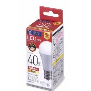 YAMADA SELECT(ヤマダセレクト) LDA4LGE17G1 LED電球 40W 電球色 口金E17