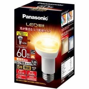 パナソニック LDR6LWRF6 LED電球 レフ電球タイプ 5.8W E26口金 電球色相当