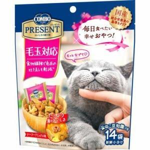 日本ペットフード  コンボ プレゼント キャット おやつ 毛玉対応  42g