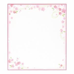 マルアイ シキシ-251 色紙 さくら
