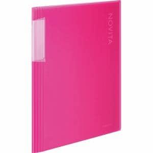 コクヨ ラ-N20P ノビータ20Pクリアファイル   ピンク