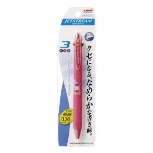 三菱鉛筆 SXE3-400-38 ジェットストリーム3C0.38 ジェットストリーム  ピンク