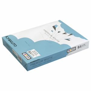 日本ノート PPCKB4 コピー用紙(PPC用紙)プレミアムホワイトB4  白色度:98%坪量:68gsm