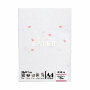 マルアイ OA-MW3 OA用紙 和紙 桜