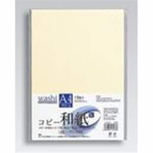 マルアイ カミ-P4AC コピー和紙 A4判 15枚入り クリーム