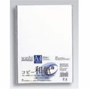 マルアイ カミ-P4AW コピー和紙 A4判 20枚入り ホワイト