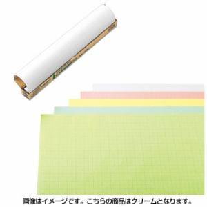 マルアイ マ-21C マス目模造紙プル クリーム 20枚
