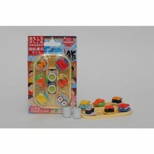 イワコー ER-BRI040 ブリスター消しゴム 回転寿司