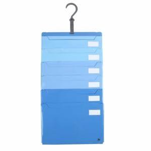 ジット A4-6P-BL JITファイル 仕分け上手 ブルー