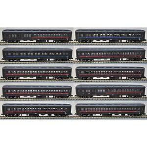 モデモ (N) NS110 普通列車10両セット(ぶどう色1号)