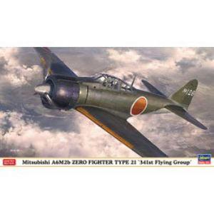 ハセガワ 1/48 三菱 A6M2b 零式艦上戦闘機 21型 第341航空隊 | ヤマダ ...