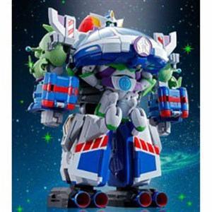 BANDAI 超合金 トイ・ストーリー 超合体 バズ・ザ・スペースレンジャー ロボ