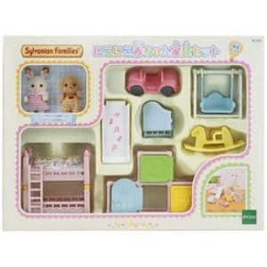 エポック社 シルバニアファミリー セ-193 にこにこ赤ちゃん家具セット