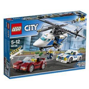 レゴジャパン レゴ(R)シティ ポリスヘリコプターとポリスカー(60138)