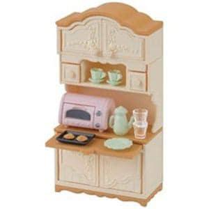 エポック社 シルバニアファミリー 食器棚・トースターセット