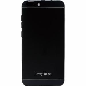 ヤマダ電機オリジナルモデル EP-171ME/B Android搭載SIMフリースマートフォン EveryPhone ME ブラック&Y.U-mobile ヤマダニューモバイルSIMカード(契約者向け)セット
