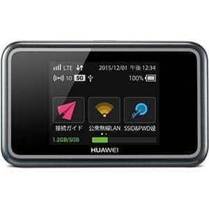 Huawei E5383S-327 SIMフリー モバイルルーター&Y.U-mobile ヤマダニューモバイルSIMカード(後日発送)セット