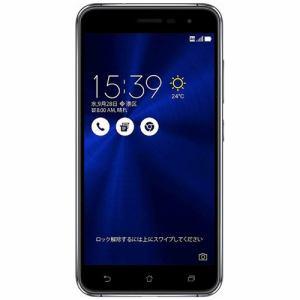 【台数限定】 ASUS ZE520KL-BK32S3 SIMフリースマートフォン Zenfone3 32G サファイアブラック