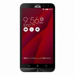 【台数限定】 ASUS ZE601KL-RD32S3 [LTE対応]SIMフリー Android 5.0スマートフォン「ZenFone 2 Laser レッド」 32GB