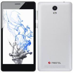 【台数限定】 freetel(フリーテル) FTJ152B-PRIORI3S-WH [LTE対応] SIMフリースマートフォン「Priori3S LTE」 パールホワイト