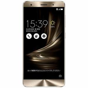 【台数限定】 ASUS ZS570KL-SL256S6 SIMフリースマートフォン ZenFone3 Deluxe 256GB シルバー