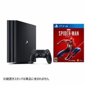【お買い得セット】PS4ProジェットブラックCUH-7200BB01 + Marvel's Spider-Man PS4