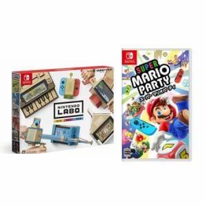 【お買い得セット】Nintendo Labo Toy-Con 01: Variety Kit + スーパー マリオパーティ Switch