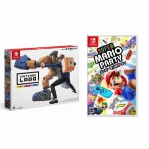 【お買い得セット】Nintendo Labo Toy-Con 02: Robot Kit + スーパー マリオパーティ Switch