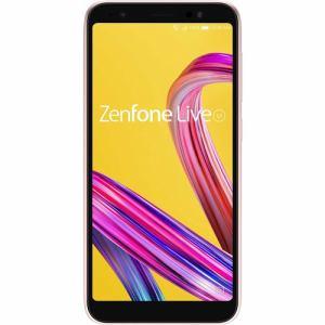 【台数限定】ASUS ZA550KL-PK32 SIMフリースマートフォン ZenFone Live L1  ローズピンク