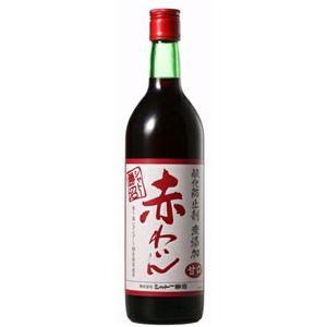 シャトー勝沼 無添加ワイン 赤甘口 720ml