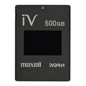 マクセル カセットHDD iV(アイヴィ)カラーシリーズ ブラック 500GB M-VDRS500G.E.BK
