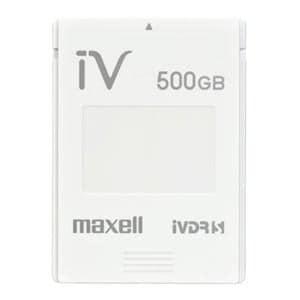 マクセル カセットHDD iV(アイヴィ)カラーシリーズ 500GB ホワイト M-VDRS500G.E.WH