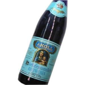 リープフラウミルヒ Q.b.A ブルーボトル 白 750ml 「聖母の乳」