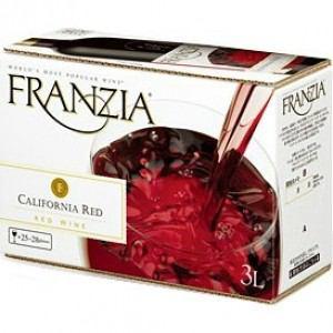 フランジア赤 バッグインボックス 3000ml 1本