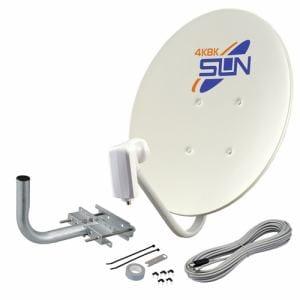 サン電子 CBDK045S 4K8K衛星放送対応BS/110度CSアンテナセット45形