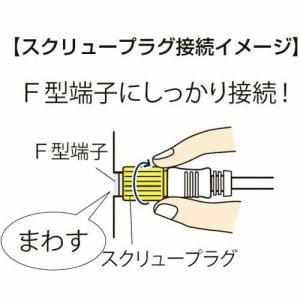 日本アンテナ RM2GRSW3A 4K8K放送対応 高品質テレビ接続ケーブル  3m