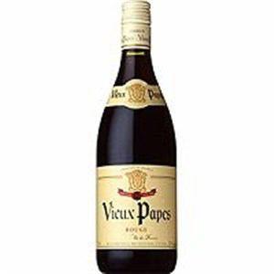 カステル ヴューパープー 赤 (フランス産テーブルワイン) 750ML 1本
