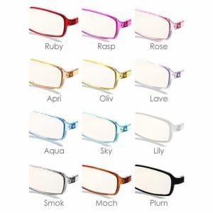 SE01PLUMコンピューターグラス SWEETEYEパソコン用メガネ・老眼鏡SE01Plum+1.50プラム