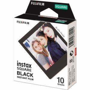 富士フイルム スクエアフィルム INSTAX SQUARE BLACK FRAME WW 1 インスタントフィルム