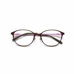 小松貿易 PG-708-VT 老眼鏡 ピントグラス 中度 ヴァイオレット