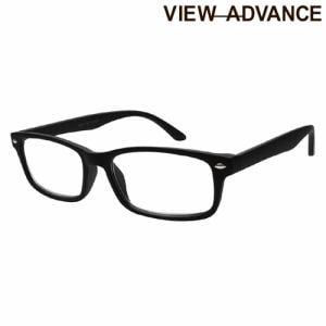 エニックス VAM-02-1 1.00 シニアグラス VIEW ADVANCE +1.00度 マットブラック/ラバーフィニッシュ