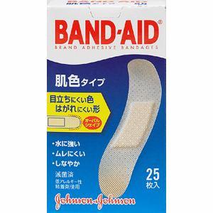 ジョンソン・エンド・ジョンソン(Johnson & Johnson) バンドエイド 肌色タイプ スタンダードサイズ (25枚) 【医療機器】